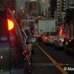 大渋滞で…
