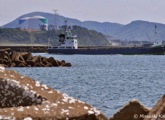熊本地震の影響はないとして運転を続ける川内原発(2014年4月25日撮影)