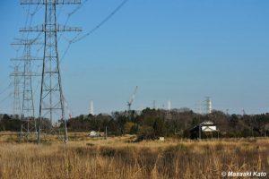 国道6号線から見る福島第一原発