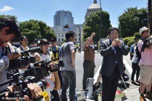民主党・枝野幸男衆議院議員 2015年7月15日