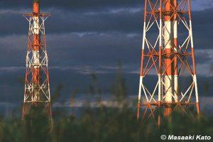 撮影:1994年9月21日 北電苫東厚真火力発電所/浜厚真 苫東工業基地電力供給のために建てられた石炭火力発電所
