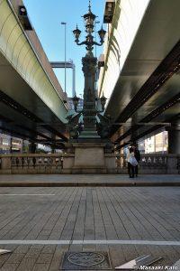 2006年12月30日撮影 日本国道路元標/日本橋上