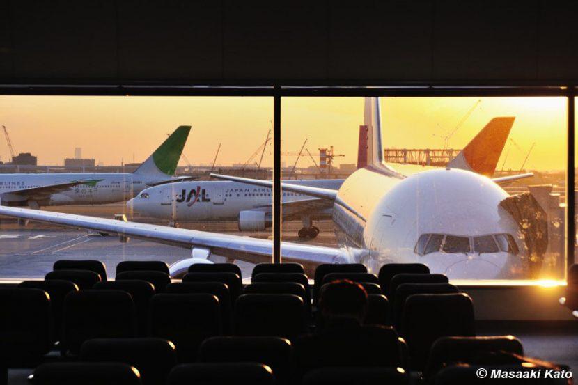 2009年2月6日撮影 羽田空港