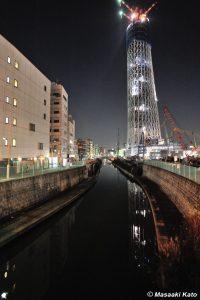 2009年12月17日 墨田区・押上駅周辺で