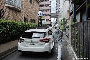 撮影:2019年5月31日 Apple Maps Car / 荒川区東尾久3丁目26付近の路上
