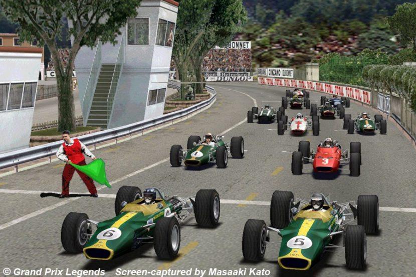 1998年にSierra Entertainmentから発売されたPC用の1967年シーズンF1・1967年シーズンを再現したシミュレータのキャプチャー画像。通称はGPL